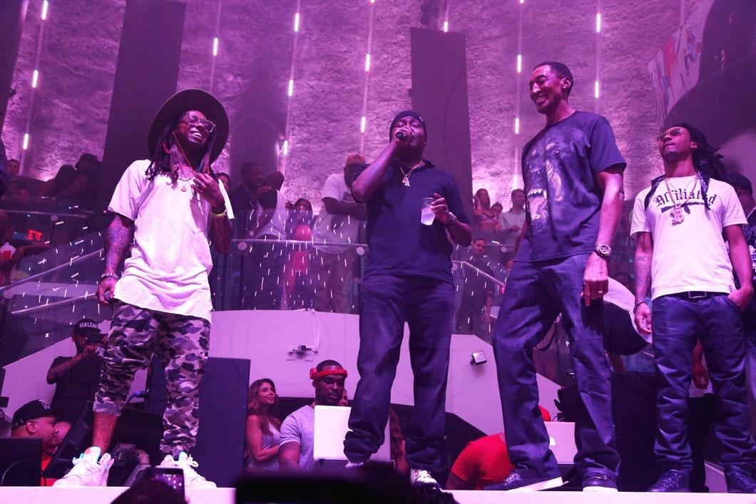 30-Lil Wayne, Trick Daddy, & Scottie Pippen