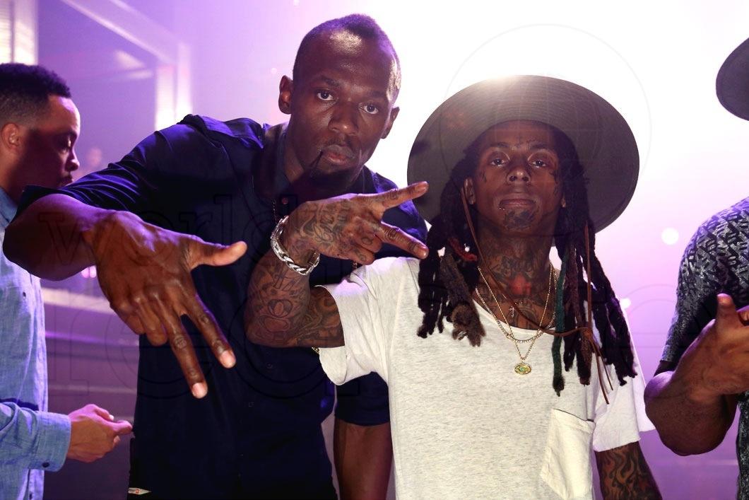 49-Usain Bolt & Lil Wayne