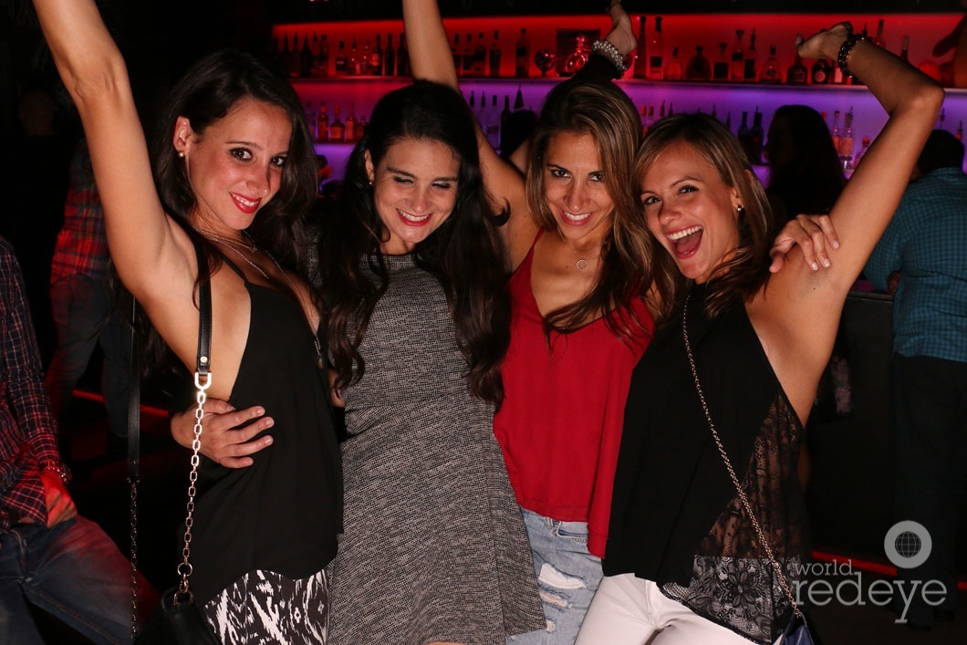JELLY at Basement Miami - World Red Eye | World Red Eye 20-Valentina Fajardo, Audrey Vallin, Esme Blanco, & Rubi Benitez