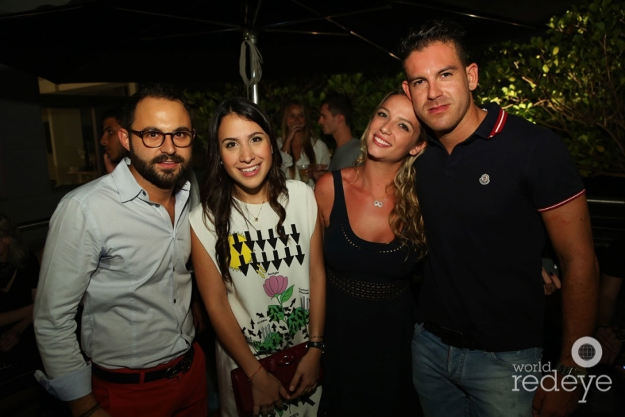 Giancarlo Di Mella, Magdalena Atencio, Maria Von Sothen, & Mario Martinez