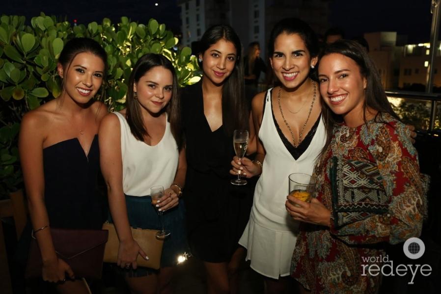 Daniela Moreno, Corina Rodriguez, Juliana Mejia, Camila Zurita, & Valentina Hernandez