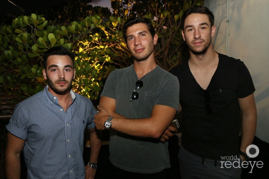 Max Frizalone, Jake Roberts, & Nick Botaro