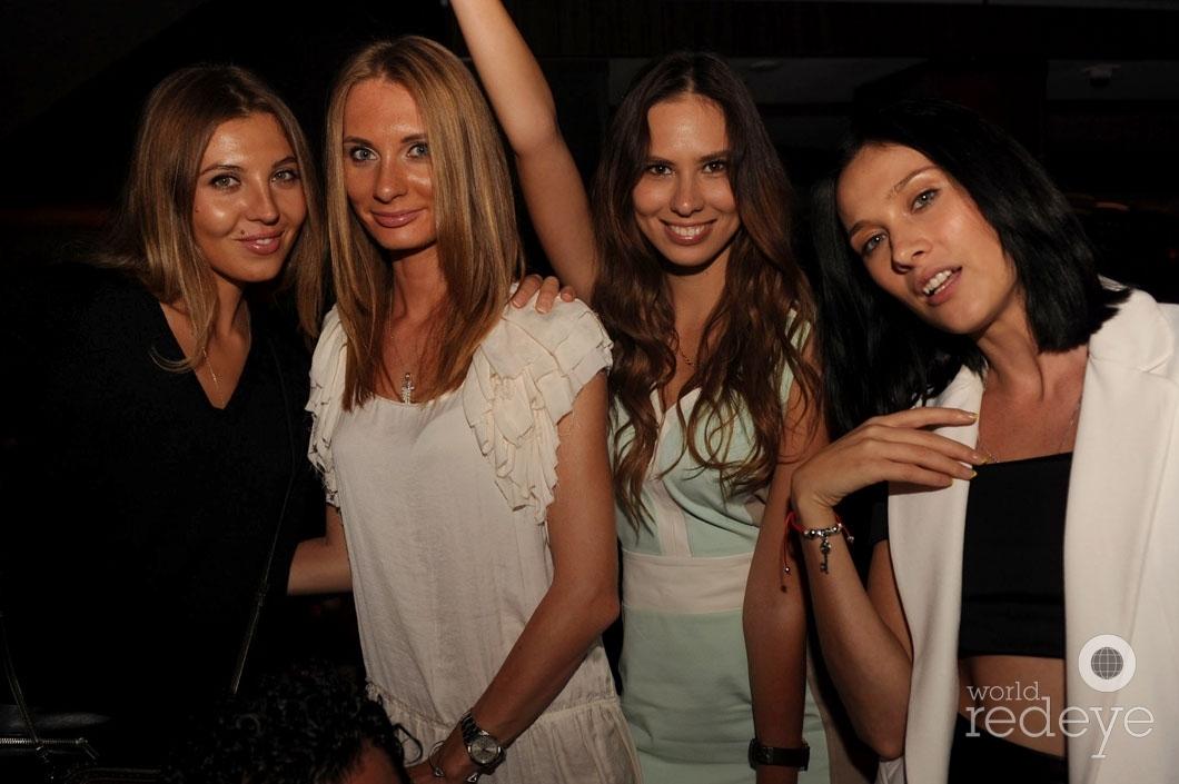 Love Moiseeva, Marina Burnysheva, Yulia Shorova, & Vilena Vix