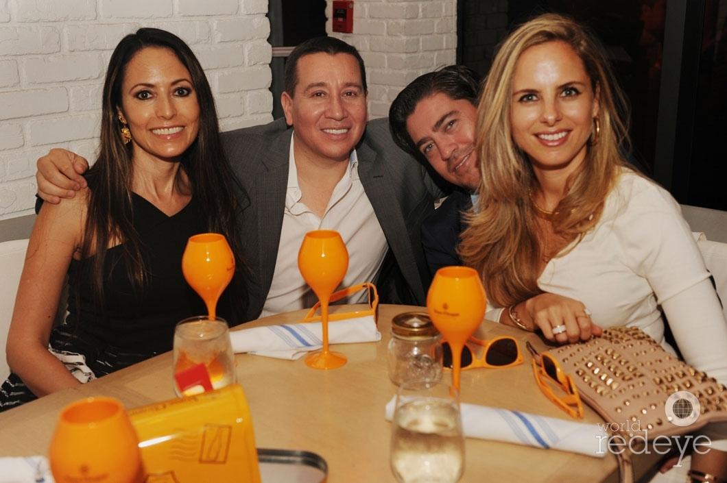 Andrea Cubit, Raul Gallon, Carlos Oliveros, & Maria Lazbal