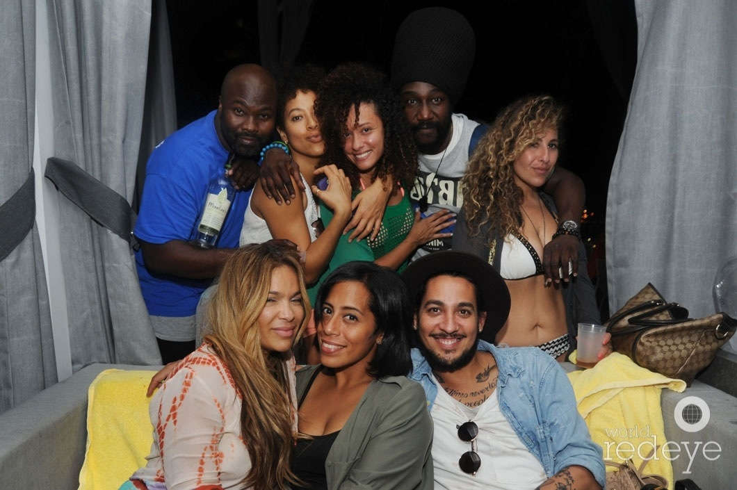 z-Max Pierre, Inez Bonilla, IZ, Ras Adonai, Rich Rivera, & friends