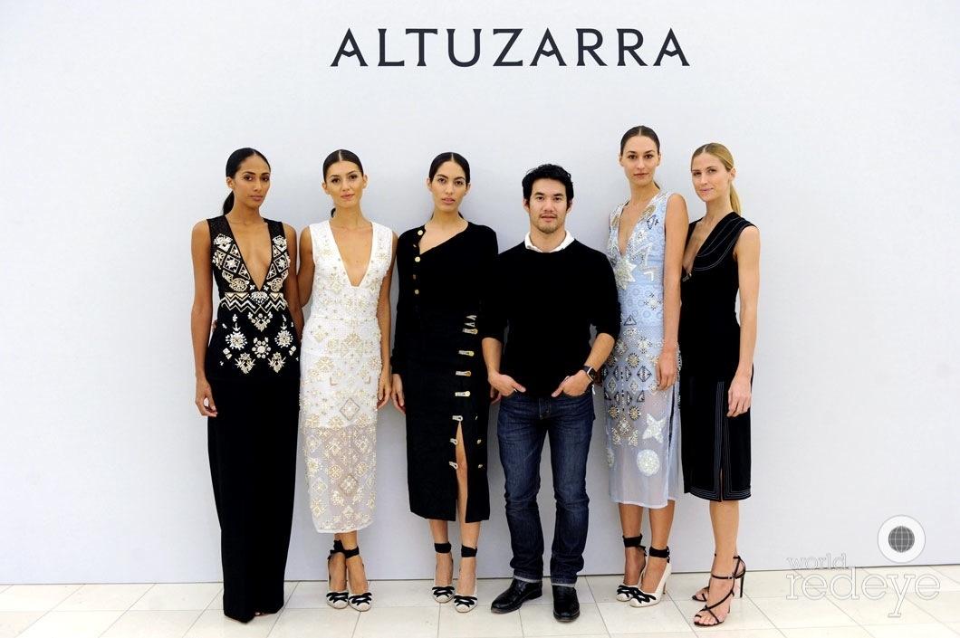 1-Maria Soler-Dubreil, Ana S, Samantha Shurafa, Joseph Altuzarra, Laetica Huss, & Lejla Szabo
