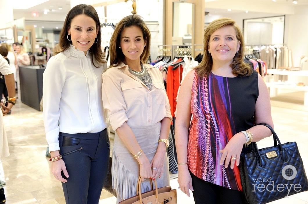 Michelle Canto, Carolina Arellano, & Ilse Brenner