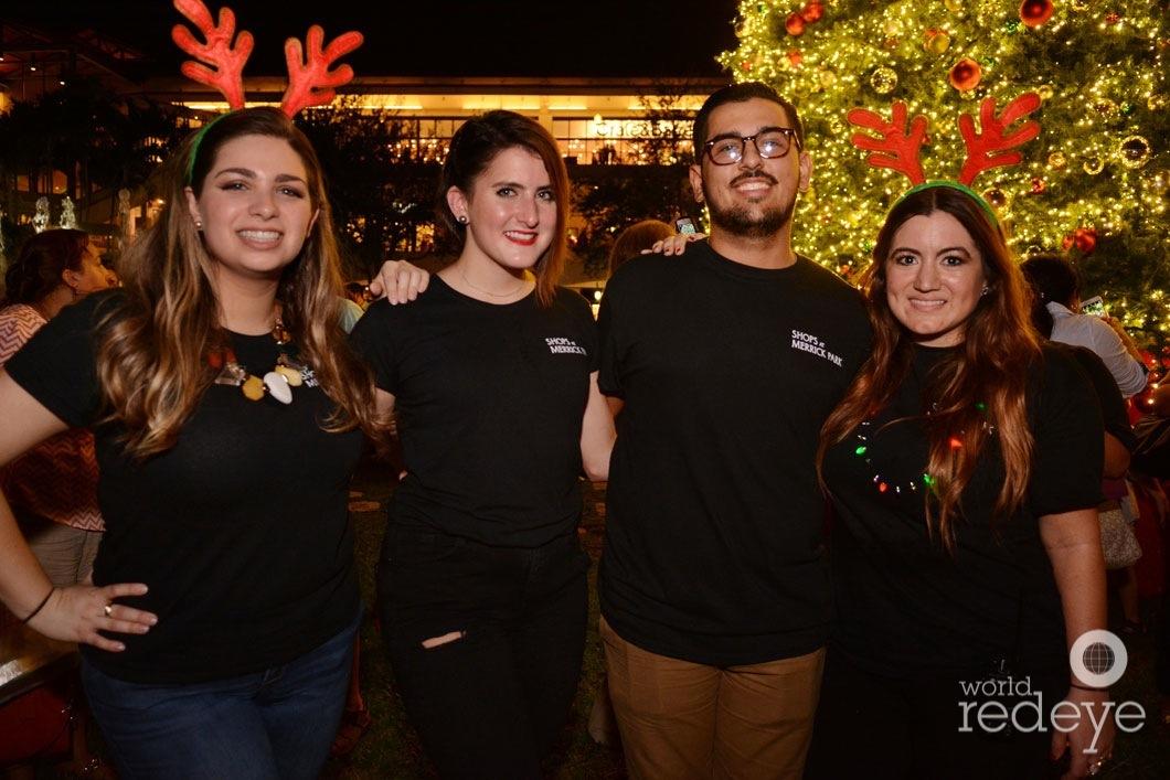 15-Claudia Da Silva, Camila Ramon, Tere Garcia, Anthony Barroso