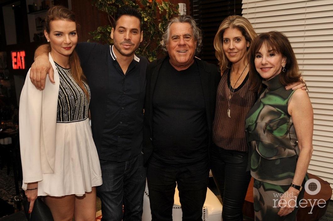 Morgan More, Jorge Moreno, Alan Lieberman, Andria Mitsakos, & Diane Lieberman