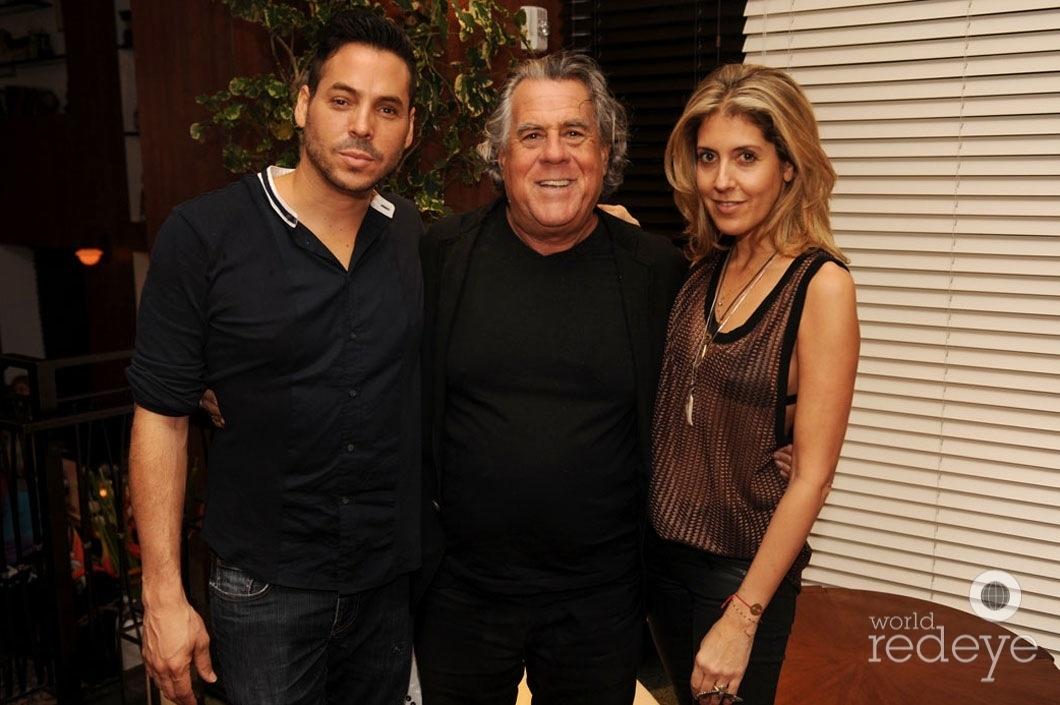 Jorge Moreno, Alan Lieberman, & Andria Mitsakos