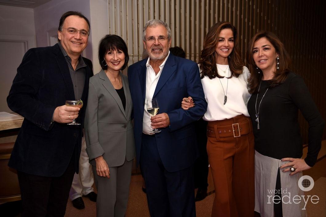 9-Paul Olarte de Kanavos, Ronalee & Russell Galbut, Dayssi Olarte de Kanavos, & Norma Olarte Becker_new