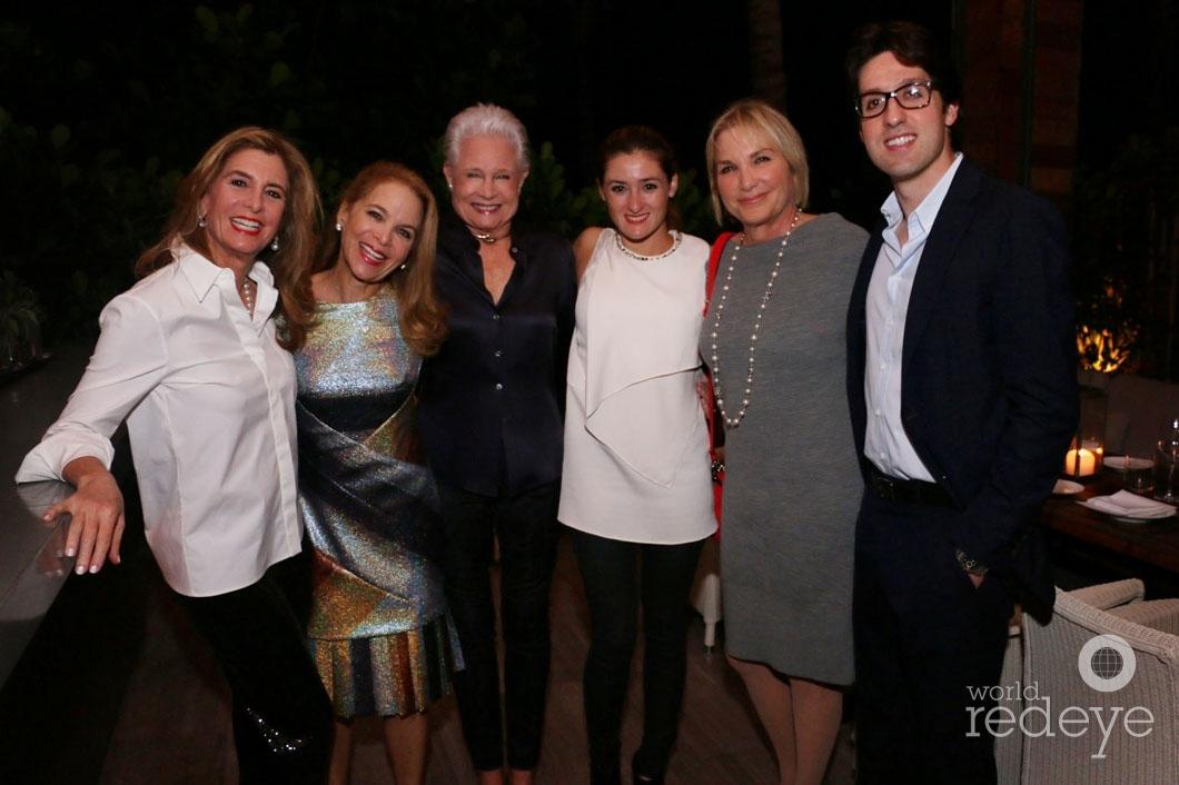 4-Jill Hertzberg, Jill Eber, Joyce Rey, Hillary Hertzberg, Felise Eber, & Daniel Hertzberg_new