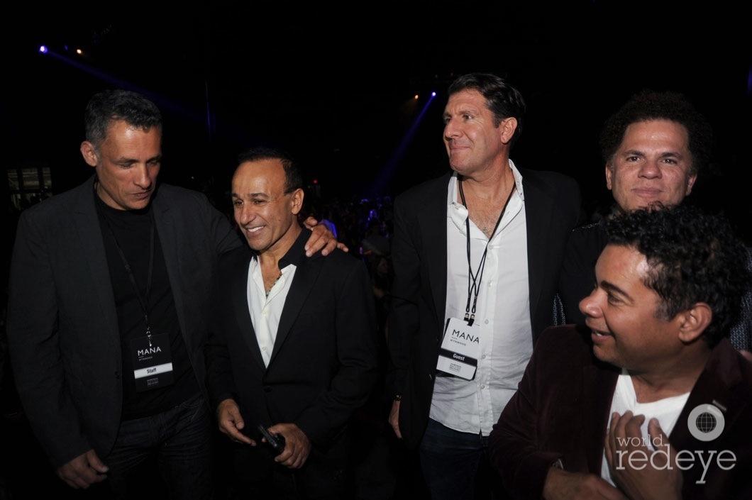 26-Moishe Mana, Michael Capponi, Romero Britto, & friends3