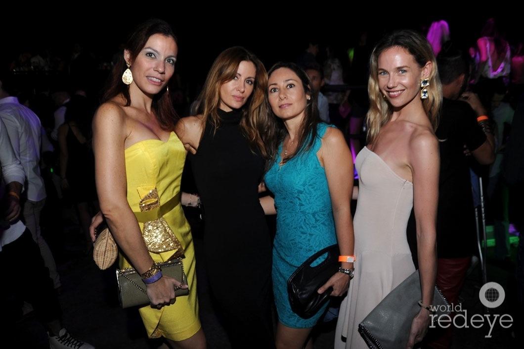34-Ana Claudia Melhado, Marcela Gomez, Claudia Gomez, & Premille Jensen1