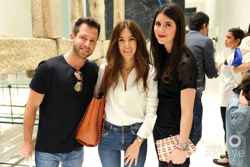 Jason Salstein, Lidia Pefaur, & Carolina Hernandez