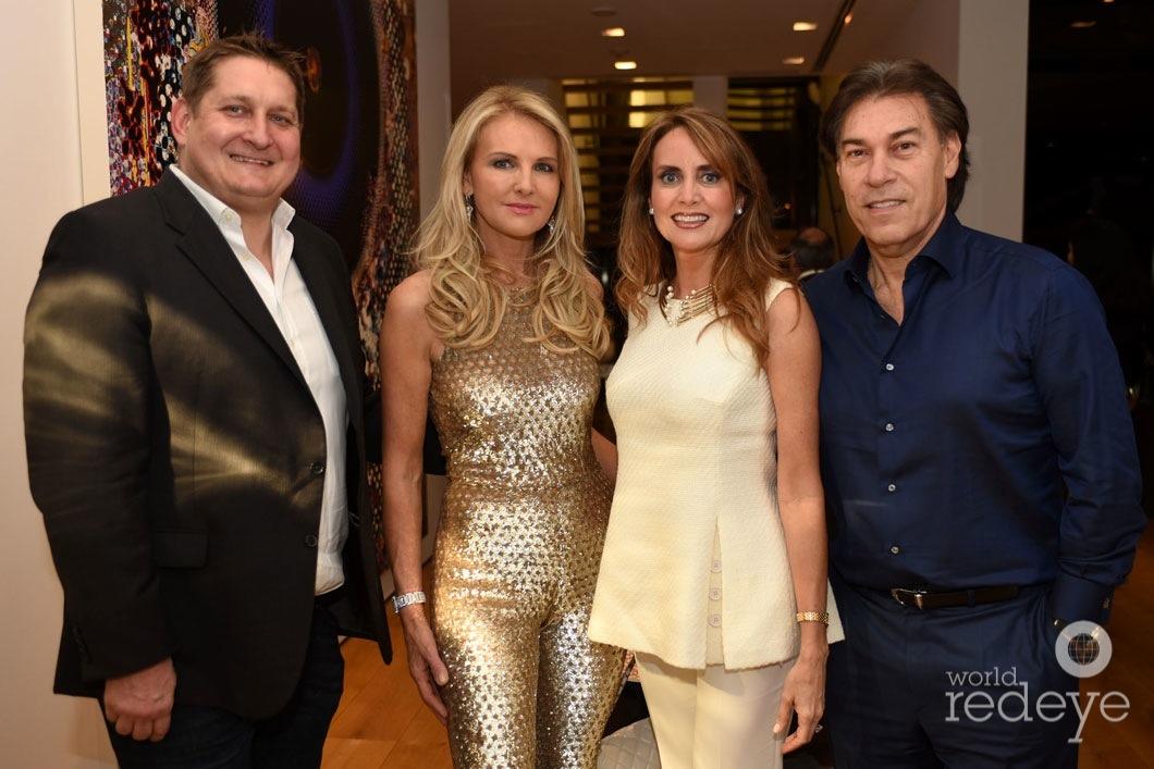 20-Courtland Lantaff, Petra Levin, & Ana Cristina & Edgardo Defortuna