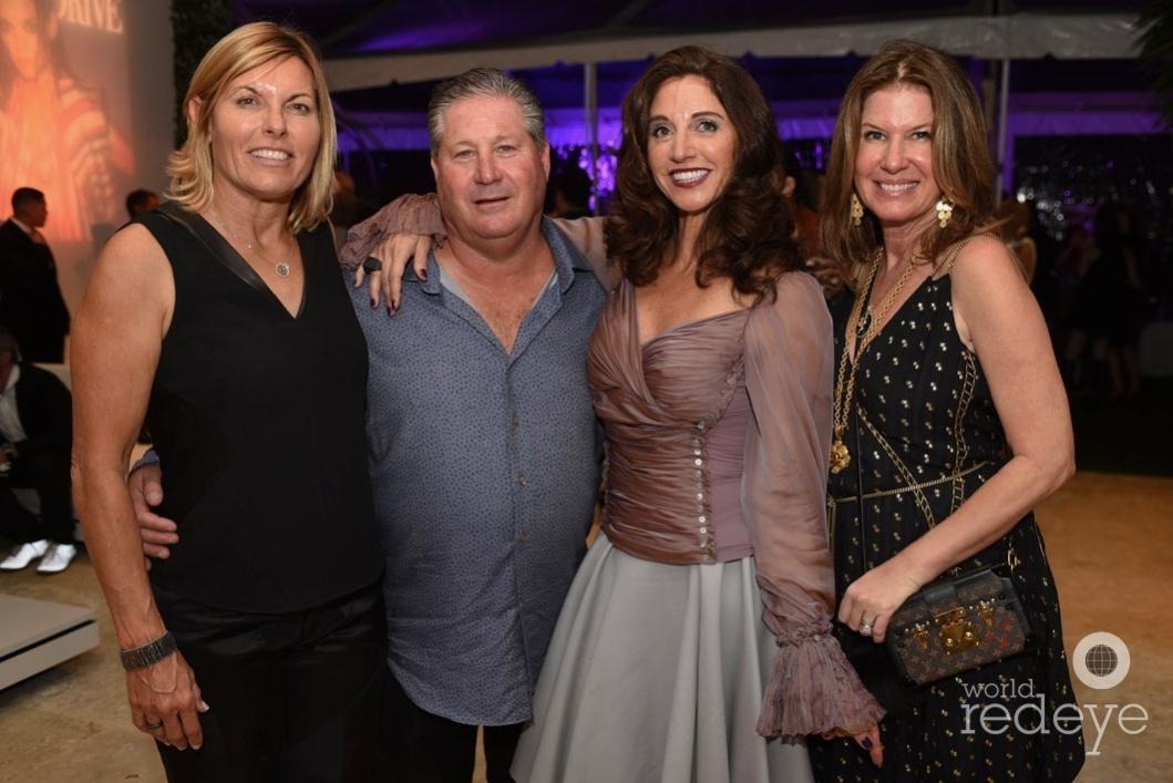 s-Sandra Yawn, Gary Shear, Claudia Potamkin, & Dana Shear