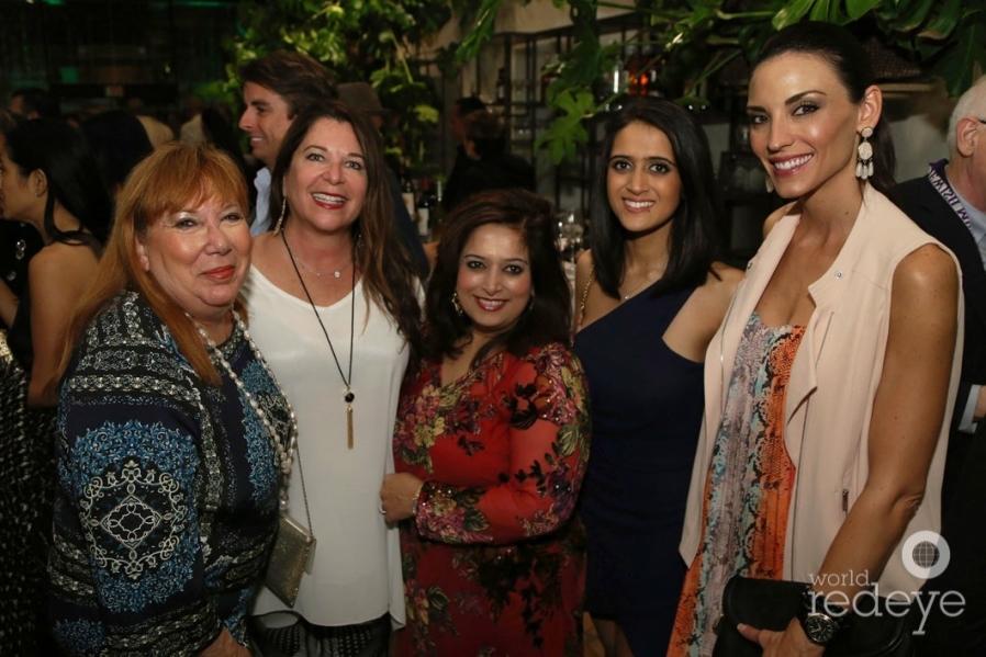 53.5-Penny Turkell, Kayce Triscoll, Anita Khubani, Sonam Khubani, & Liz Crowley