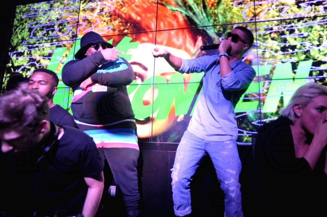 1-DJ Ruen djing, Carnage, ILoveMakonnen performing, & Julz5