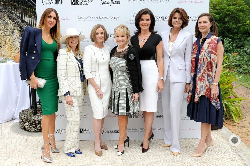 Christy Martin, Gigi Whitman, Marie Whitehurst, Swanee DiMare, Lori Jennings, Lydia Touzet, & Frances Sevilla-Sacasa