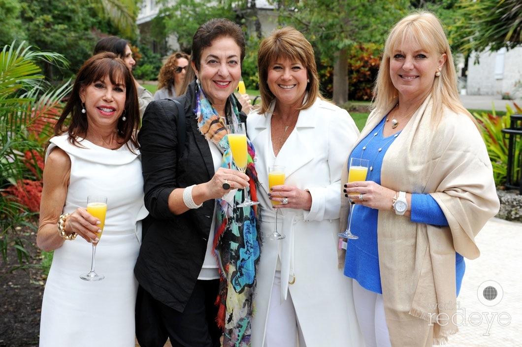 Bonnie Learner, Ellen Miller, Beth Serrate, & Michelle Brockway