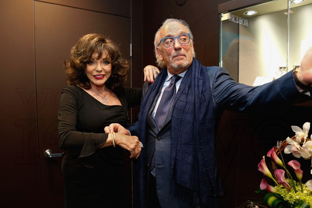 2-Joan Collins & Roberto Coin7