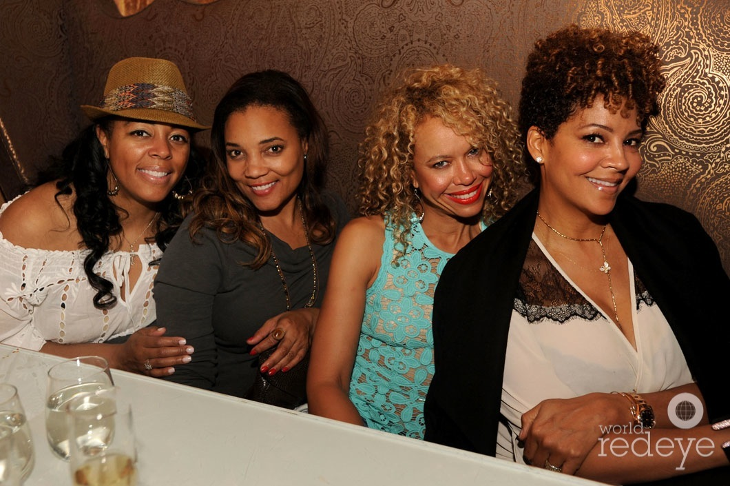Alicia Sherman Anderson, Amaris Jones, Jacqueline Nickelberry, & Tracy Mourning