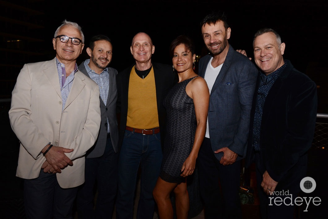 15-Arturo Rodriguez, Juan Talavera, Nory Diaz, Frank Longo, Jeff Ronci