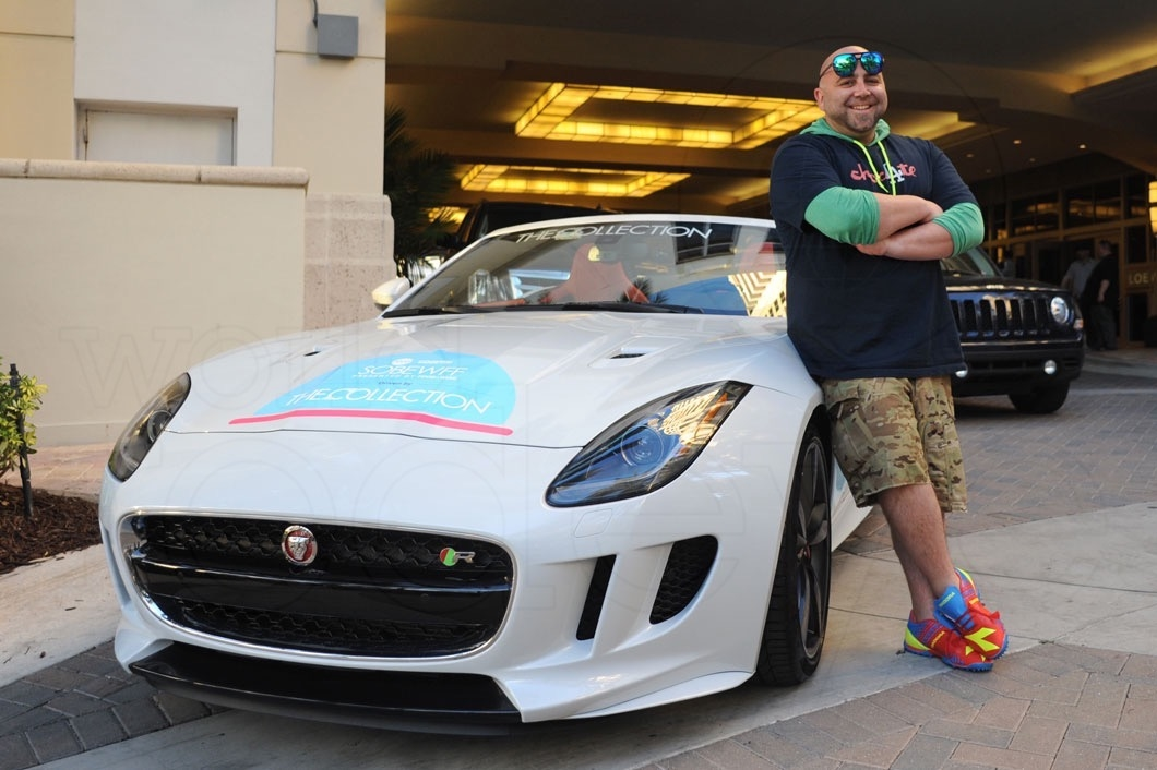 photo of Duff Goldman  - car