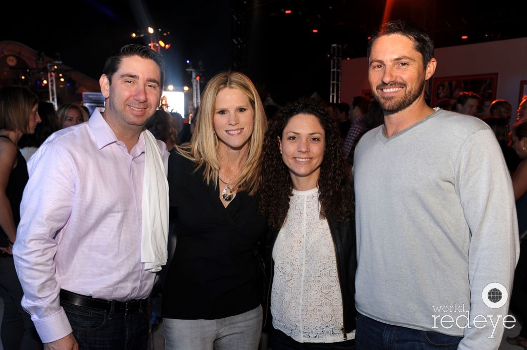 Darren Friedman, Martha Probst, Kara Friedman, & Bryan Probst