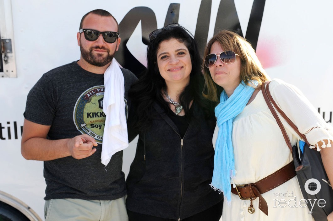 Josh Beckerman, Alex Guarnaschelli, & Laine Doss