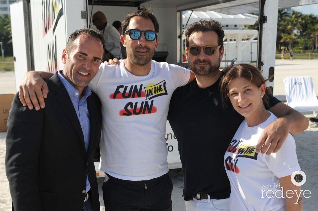 Steven Hiblum, Cobi Levy, Jason Pomeranc, & Kim Walker