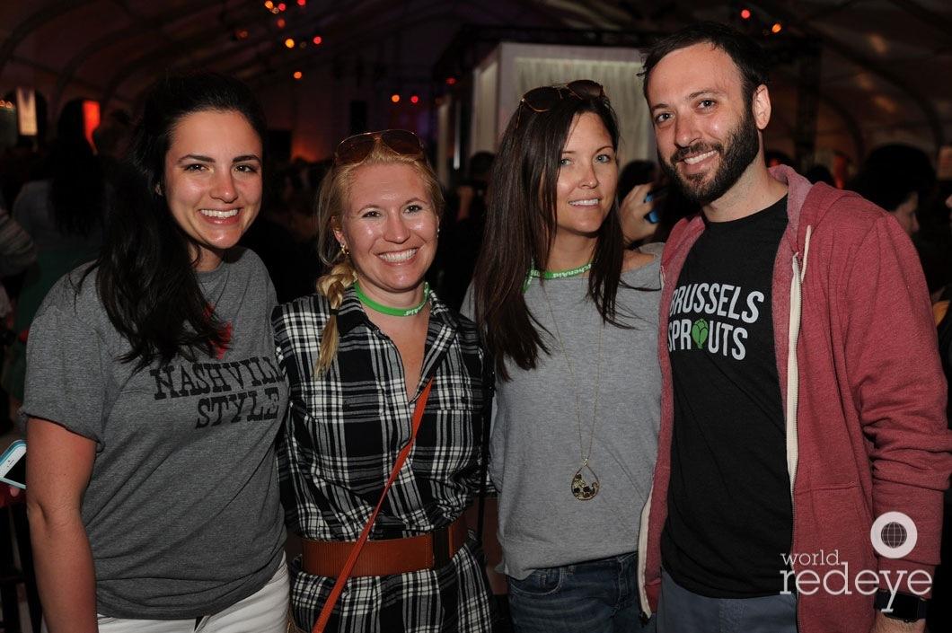 Christina Hayes, Devonie Nicholas, Katy Darnaby, & Andrew Darnaby