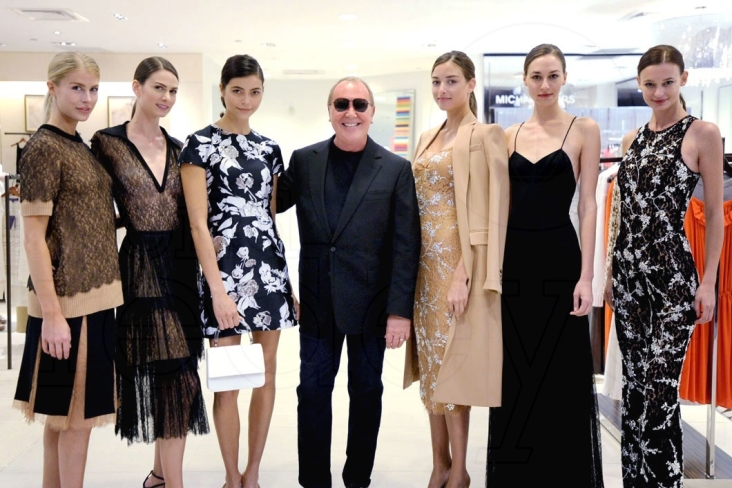 1-Michael Kors & Saks Fifth Avenue Models