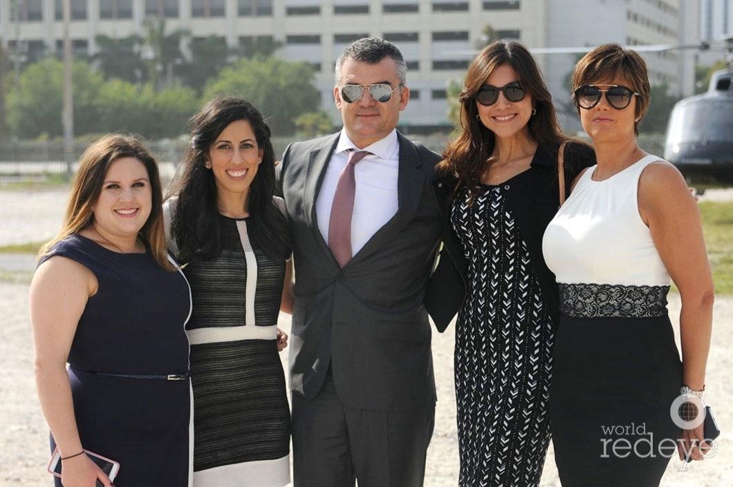 Carolina Fernandez, Vivian Cepero, Sergio Mannarino, Isabel Alvarez, & Anabela Garcia