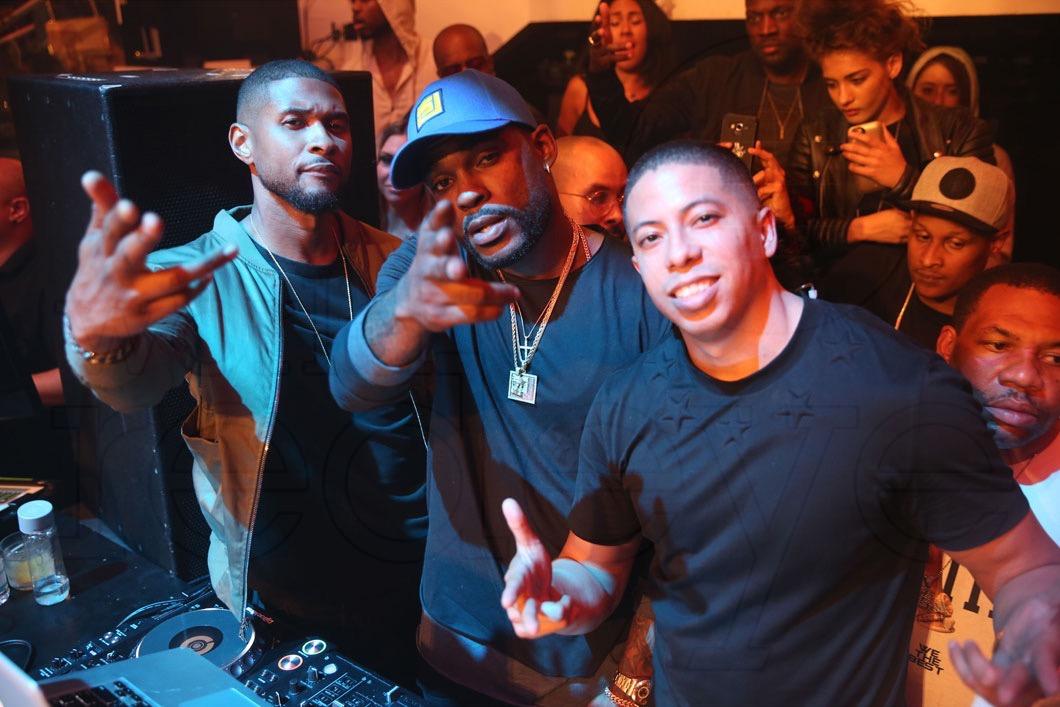 Usher, Stevie J, & Purple1