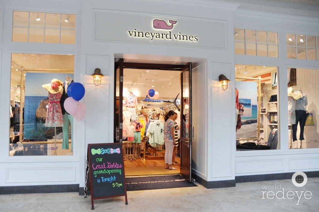 549a429d21 Vineyard Vines Grand Opening at Shops at Merrick Park - World Red ...