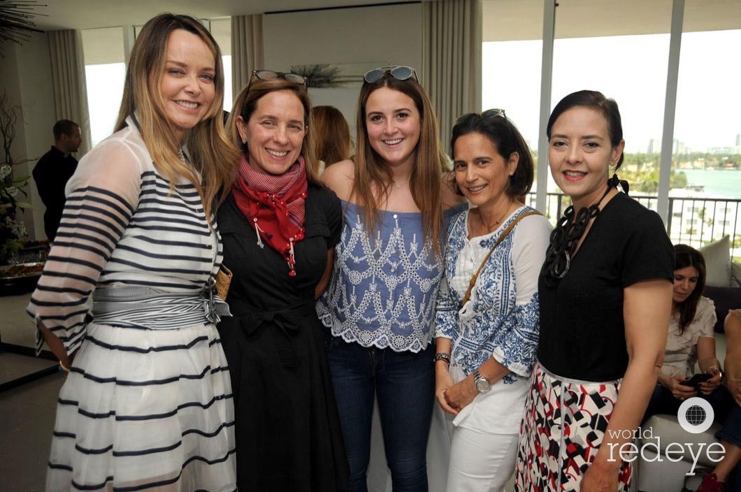 11-Clarissa Bronfman, Alessandra Lante, Bettina Bronfman, Thais Aguerrevere, & Carolina Figueredo2_new