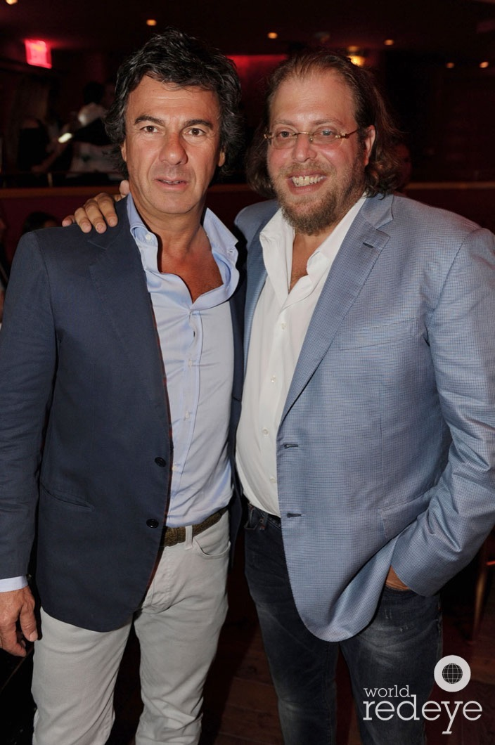 Ugo Colombo & Gil Dezer World Red Eye Haute 100 Dinner