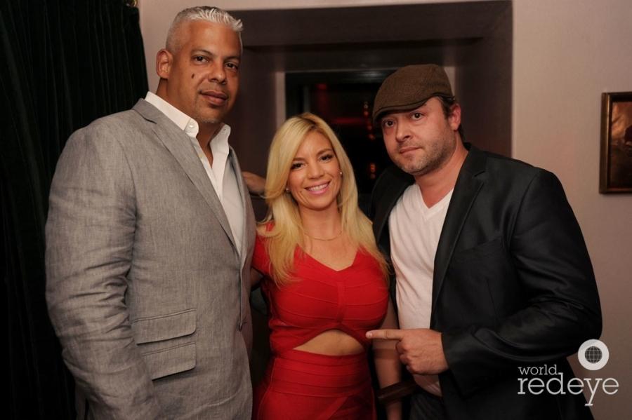 Orlando Robinson, Elaine Calero, & Angelo Fresquet