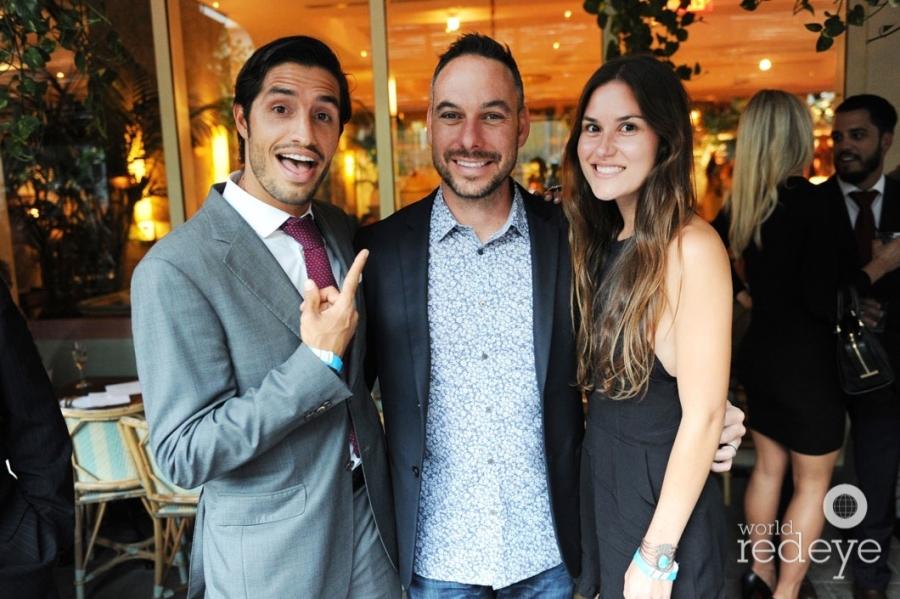Gaudi Castro, Tony Cho, & Natalie Marchionni