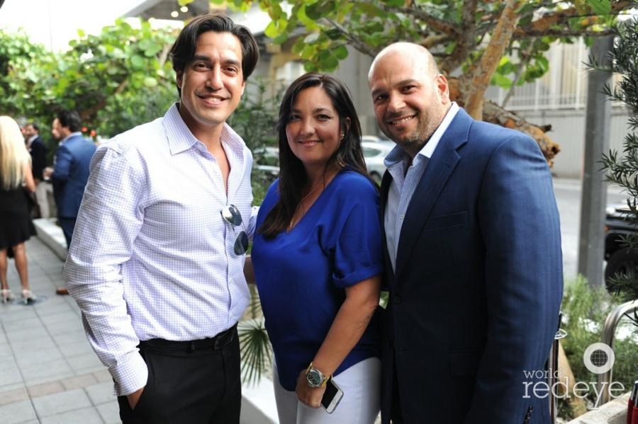 Andres Asion, Vanessa Moya, & Eddie Gil
