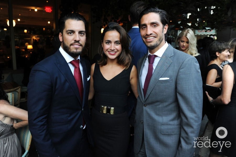 Andres Fanjul, Cristina Lavin, & Gaudi Castro