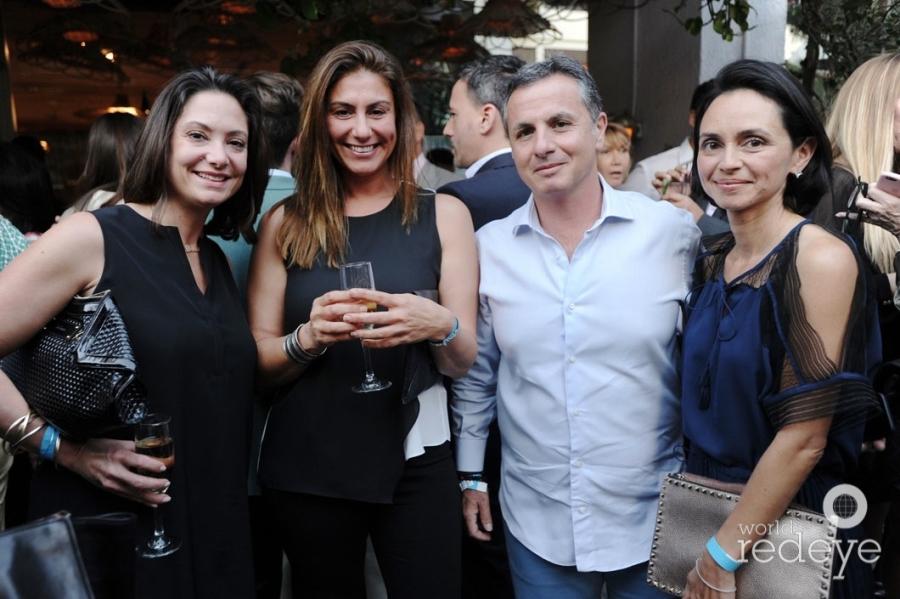 Charlotte Dunagan, Selin Susoy, Philippe & Claudia Harari