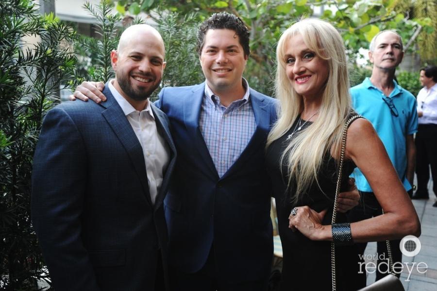 Jeff Molinaro, Julian Kasdin, & Fiorella Terenzi