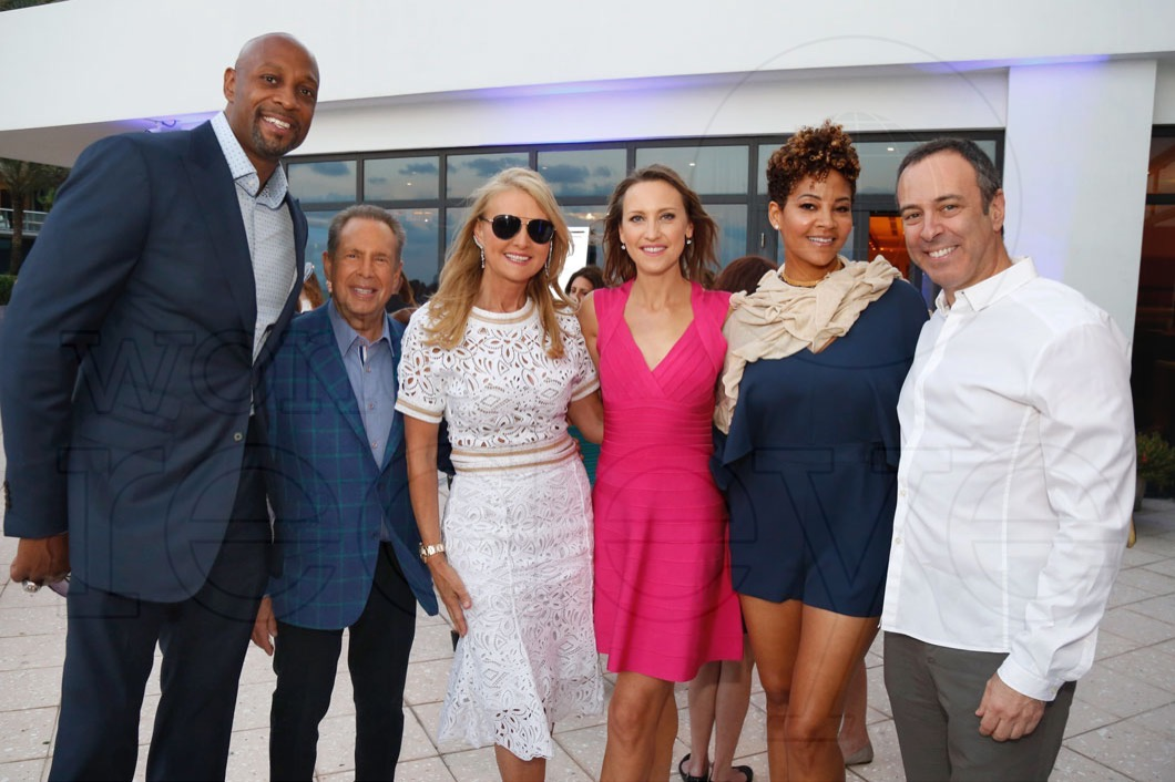 14-Alonzo Mourning, Steven & Petra Levin, Kinga Lampert, Tracy Mourning & Eddie Lampert_new