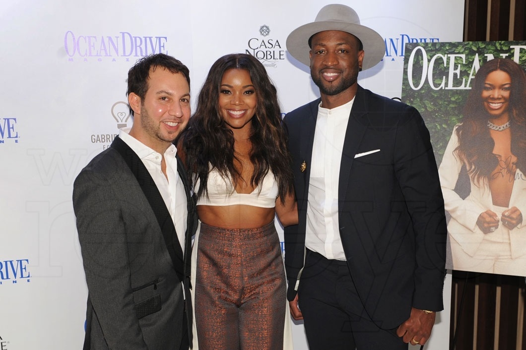 6-Jared Shapiro, Gabrielle Union, & Dwyane Wade3