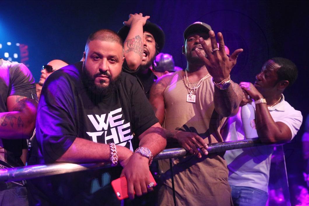 14-DJ Khaled, Kent Jones, & Stevie J4