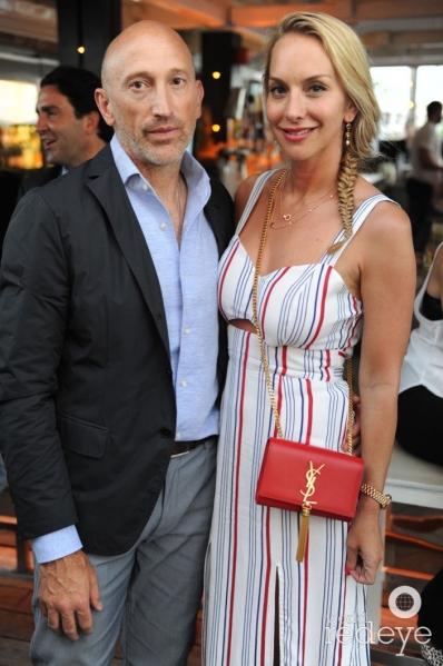 Juan Pablo Cappello & Cristina Getty