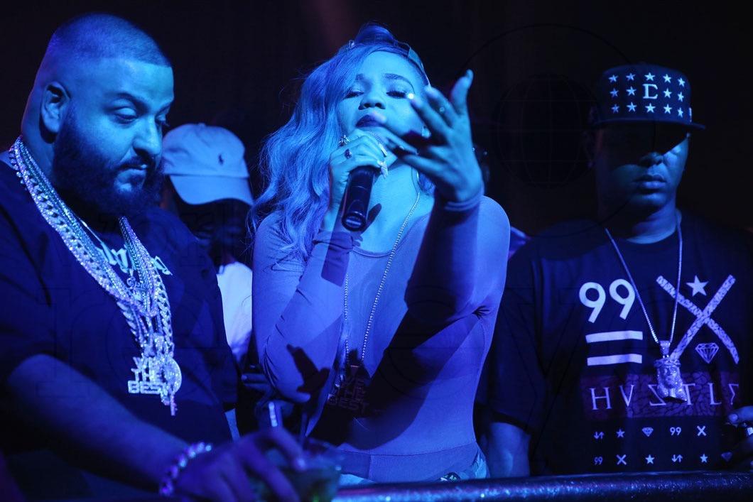 30-DJ Khaled & Steph Lecor - LIVE5